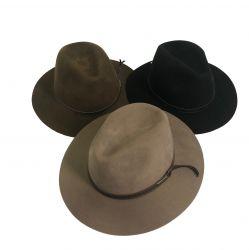 Chapéu Social Casual Outback Feltro Marcatto Masculino