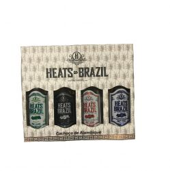 Kit Cachaça Alambique Heats Brazil