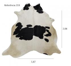 Tapete de couro legítimo, ref. 219