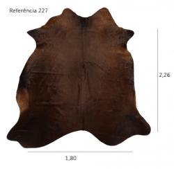 Tapete de couro legítimo, ref. 227