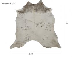 Tapete de couro legítimo, ref. 230